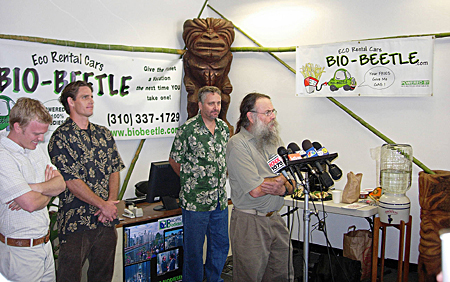 bio-beetle press conference